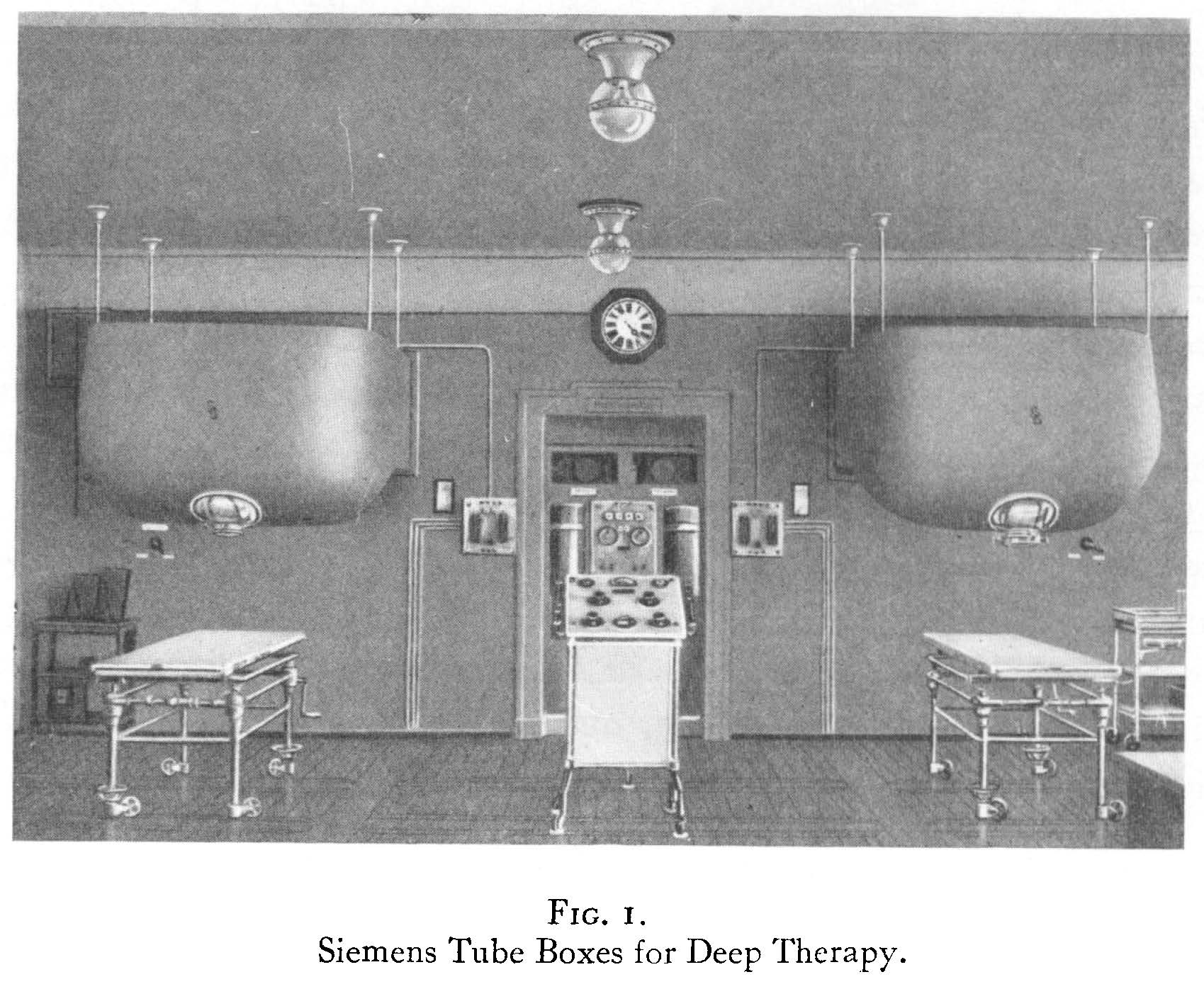 Siemans tube boxes for deep therapy
