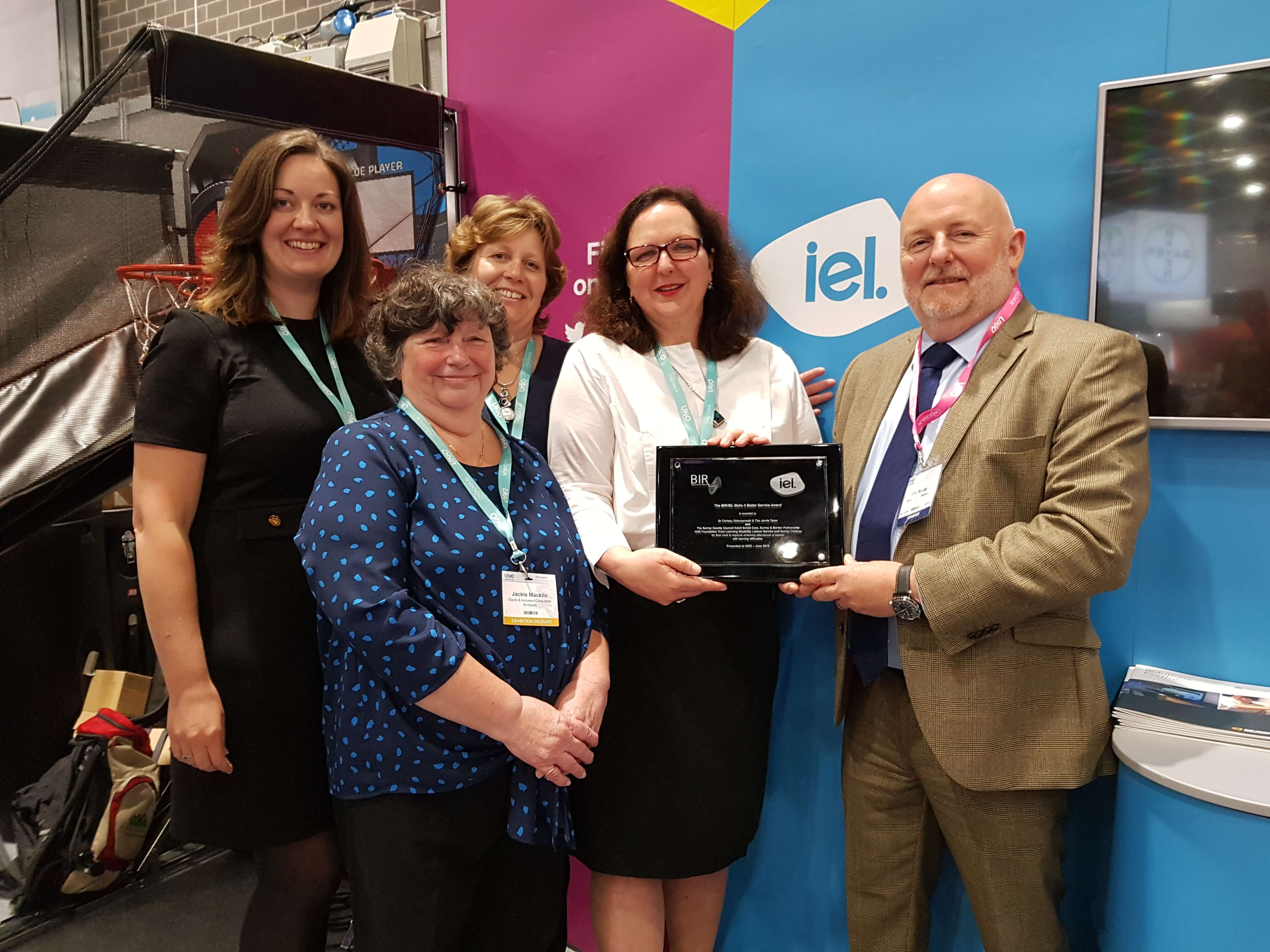 BIR/IEL Make it Better Award for breast screening project