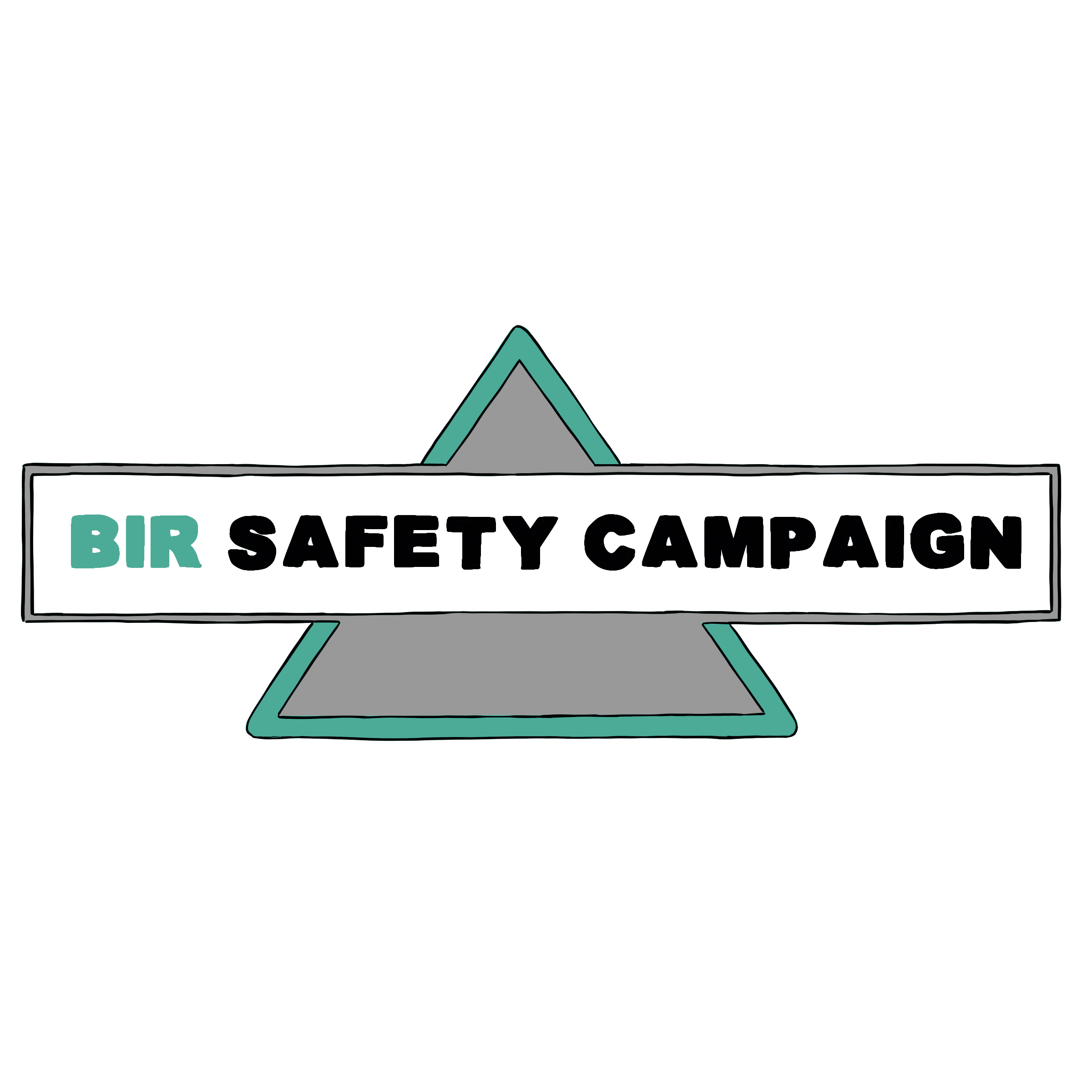 Safety campaign logo