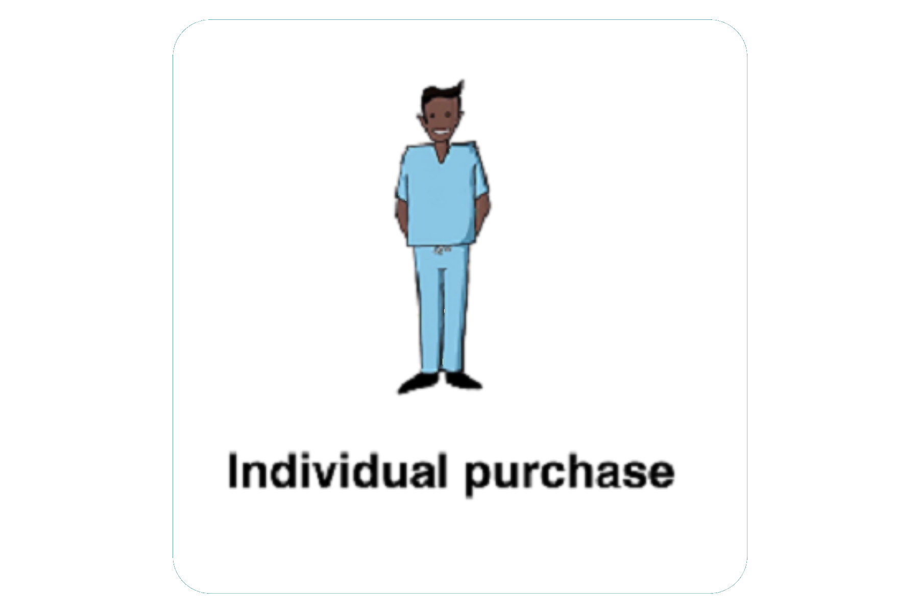 Individual Purchase With Rounded Edge