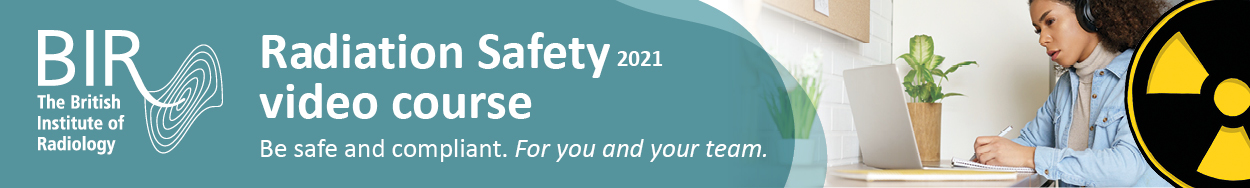 Radiation safety 2021 banner