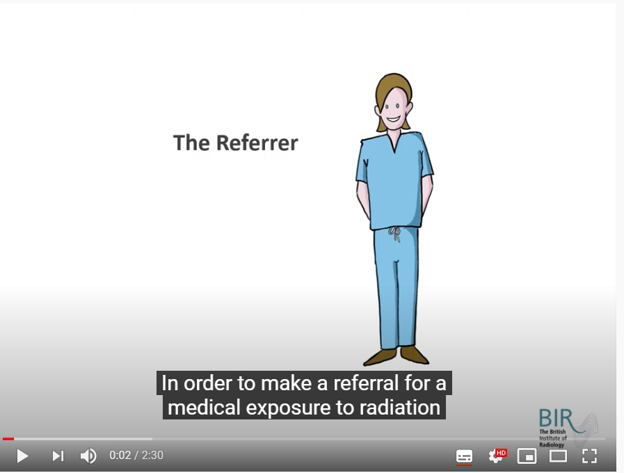Radiation Safety Video Course Graphic